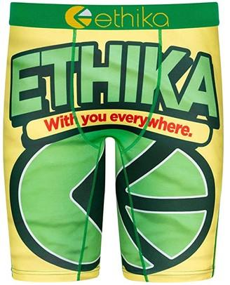 Ethika Funnyon (Yellow/Green) Men's Underwear