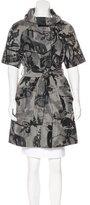 Hanii Y Short Sleeve Printed Coat