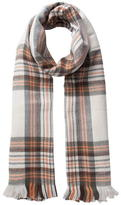 Pieces Checked Scarf