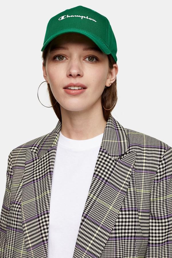 Champion Womens Green Unisex Cap By Green