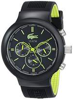 Lacoste Men's 2010650 Boneo Black & Lime Watch