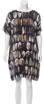 Hussein Chalayan Printed Silk Dress