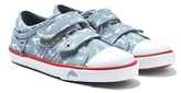 Start Rite Start-rite Sea Spray Blue Shark Canvas Shoes