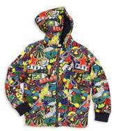 Stella McCartney Toddler's, Little Boy's & Boy's Sticker Printed Hooded Jacket