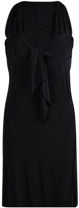 Gucci Black Knit Tie Detail Halter Dress XS
