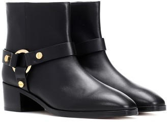 Stuart Weitzman Expert leather ankle boots