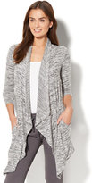 New York & Co. Draped Open-Front Cardigan