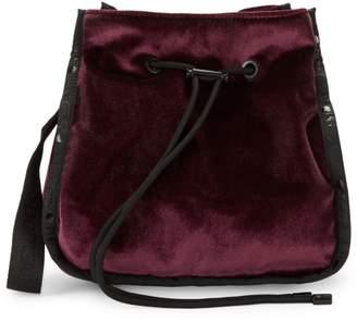 Le Sport Sac Nadine Velvet Bucket Bag
