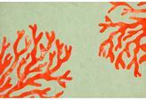 Liora Manne Visions Ii Coral Indoor/Outdoor Rug- Red