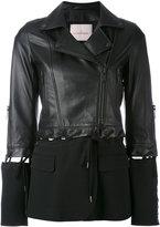 A.F.Vandevorst fabric panel jacket