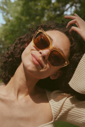 Urban Outfitters Andi Oversized Square Sunglasses