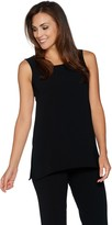 Linea By Louis Dell'olio by Louis Dell'Olio Gauze Crepe Asymmetrical Tank