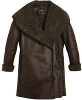 Sam Edelman Sydney Hooded Sherpa Coat