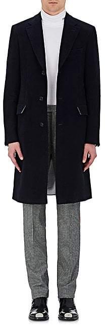 Calvin Klein Men's Cotton Moleskin Coat - Navy Size 52 Eu