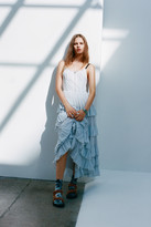 Urban Outfitters Annabelle Tiered Ruffle Maxi Dress