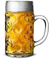 German Beer Stein Glass 2 Pint   Classic Beer Tankards, Beer Mugs, Beer Steins   2 Pint Glass Beer Tankards