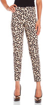 Love Moschino Leopard Print Trousers