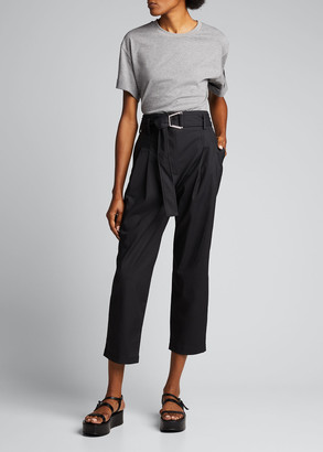 3.1 Phillip Lim Belted Utility Cropped Pants