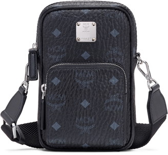MCM Mini Visetos Original Coated Canvas Crossbody Bag