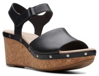 Clarks Annadel Clover Wedge Sandal