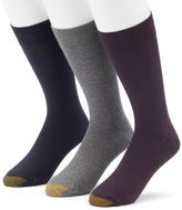 Gold Toe Men's GOLDTOE 3-Pack Solid Dress Socks
