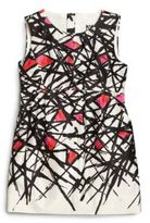 Milly Little Girl's Coco Abstract-Print Dress