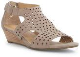 Me Too Sydnee Wedge Leather Sandals