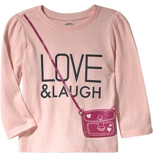 Old Navy Graphic Long-Sleeved Tees for Baby