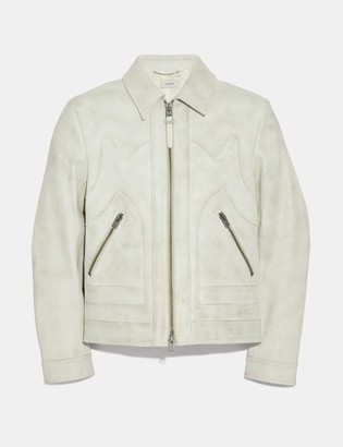 Coach Western Leather Jacket