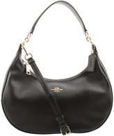 Coach Pebble Leather Harley East West Hobo in , F38250 IMBLK