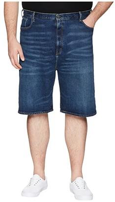 Levi's(r) Big & Tall Big Tall 569tm Loose Straight 5-Pocket Shorts (Homespun Rinse) Men's Shorts