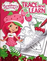 Imagine Strawberry Shortcake Trace and Learn Colouring and Tracing Book