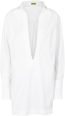 GAUGE81 Sparta White Cotton Shirt Dress