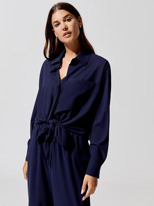 Carbon38 Long Sleeve Oversized Shirt