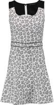Marc by Marc Jacobs Heather cotton-blend jacquard mini dress