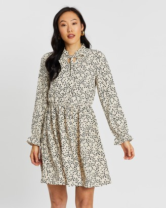 Vero Moda Afia LS Bow Dress
