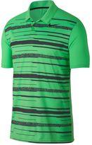Nike Men's Essential Regular-Fit Dri-FIT Striped Performance Golf Polo