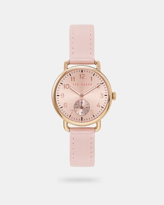 Ted Baker Leather Strap Watch