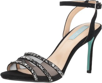 Blue by Betsey Johnson Women's SB-VEDA Heeled Sandal