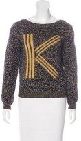 Kenzo Intarsia Wool-Blend Sweater