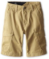 Volcom Fieldstone Cargo Short (Big Kids)