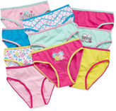 Asstd National Brand 10 Pair Brief Panty Girls