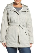 Columbia Plus Size Women's 'Pardon My Trench' Water Resistant Trench Coat