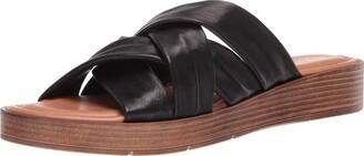 Bella Vita Tor-Italy Multi Banded Slide Sandal