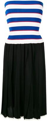 Sonia Rykiel pleated knit skirt dress