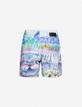 Amiri Tie-dye swim shorts