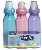 Evenflo Classic Light Tint Nurser 8 oz. - 3 Pack