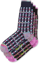 Robert Graham Two-Pair Multi-Stripe Socks Set, Multi