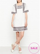 Whistles Selina Embroidered Dress