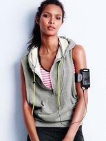 alessandra ambrosio  Who made  Alessandra Ambrosios gray zipper vest?